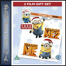 DESPICABLE ME & DESPICABLE ME 2 - 2 FILM GIFT SET  **BRAND NEW DVD***