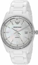 Emporio Armani Ceramic Case Polished Wristwatches