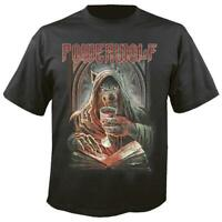 OFFICIAL LICENSED - POWERWOLF - WE DRINK YOUR BLOOD T SHIRT - POWER METAL