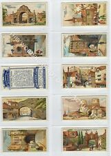 Full Set, Players, Celebrated Gateways 1909 VG-EX (Gb1876-442)
