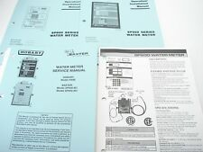 Baxter Sp600 Series Water Meter Installation, Operation & Service Manuals