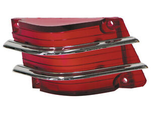 New 1965 Comet Taillight Lens RH With Chrome Bars Caliente Cyclone Mercury Ford