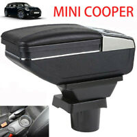 Armrest Console Storage Box For MINI COOPER COUPE Cup Holder Ashtray Arm Rest
