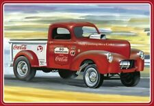 Amt Modèles Coca-cola 1940 Willys Gasser Pickup Camion 1/25 1145