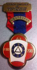 Masonic Jewels: East Lancashire Mark Province - Centenary Jewel