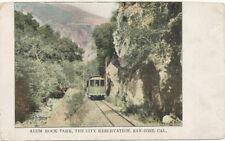 San Jose CA * Alum Rock Park Trolley ca. 1905  City Reservation