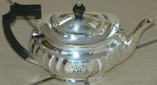 Edwardian Silver Plated Teapot Quality Made by Atkins Bros Circa 1910 qmab