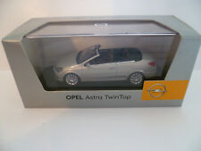 OPEL ASTRA CABRIOLET TWIN TOP GRIS : MINICHAMPS ~  NEUF