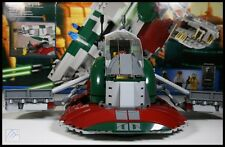 2010 LEGO 8097 STAR WARS SLAVE 1 100%COMPLETE + BOX + INSTRUCTIONS + MINIFIGURES
