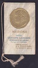 CALENDARIETTO TOSI 1925 NERONE - MILANO - IN RILIEVO AUTOMOBILI GAROZZO CATANIA