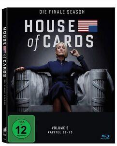 House of Cards Staffel 6 Blu-ray Die Finale Staffel Neu und Originalverpackt