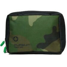 EMPTY LARGE FIRST AID BAG - CAMOUFLAGE CAMO - BELT LOOPS & MESH POCKETS - SPORTS