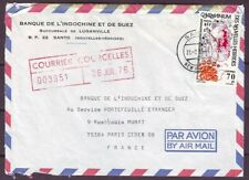 d4856/ New Hebrides Airmail Cover t/France 1976