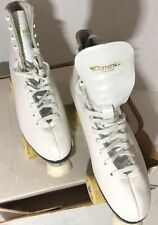 DOMINION Canada ROLLER SKATES WITH Legend Wheels Women's SIZE L10 Model 65