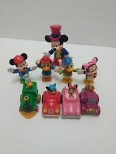 Mickey, Disney Lot.Pullback Cars And Figures