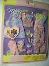 BARBIE HAPPY FAMILY PREGNANT MIDGE & BABY FASHION OUTFIT SET
