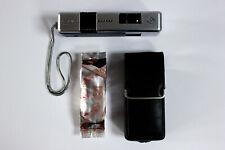 🎉📸 Agfa Agfamatic 3000 Pocket Kamera • Lomo Tiger Color 110 Film • Tasche