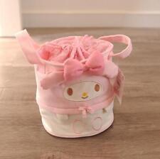 Kawaii Bowknot My Melody Storage Bag Hand Bag Lunch Box Bag Canvas