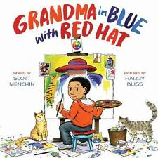 Grandma in Blue with Red Hat, Menchin, Scott, New Book