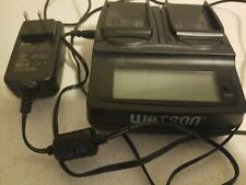 Watson Duo Charger works with Canon LP-E8 /w 2 CLP-E8 battery plates