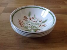 REDUCED 4 Soup / Dessert Bowls by J & G Meakin Harvestfield Pattern