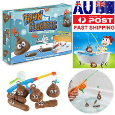 FISHIN FOR FLOATERS BATH TIME GAME FISHING FOR POO TURD DISGUSTING FUN Toys AU