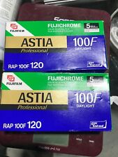 Fujifilm Astia 100F - 120  Color slide film 10 Rolls EXP 06/2006
