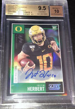 2020 Mosaic Football Mystery Pack Justin Herbert 1/1 True Auto? Read Description