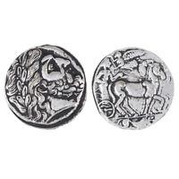 Antike Griechische Kutsche Silber Token Kleine Sammlung Versilberung MÜNZEN 1D3