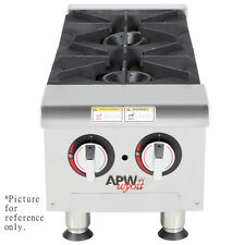Apw Wyott Ghp-4i Gas Countertop Champion Hotplate