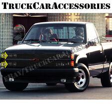 For 1988-1993 Chevy C/K Pickup Blazer Suburban Black Phantom Grille Replacement