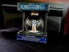 NIB Holiday Radiance Illuminated Fine Glass Ornament Powered By Mini-Light Set