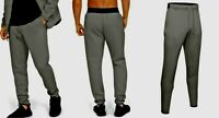 new UNDER ARMOUR men's UNSTOPPABLE MOVE JOGGERS sz L beige gray sports pants