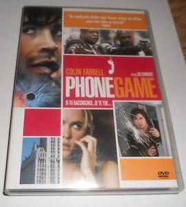 "dvd ""Phone Game"""