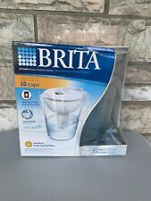 Brita Pacifica Water Filter Pitcher 10 Cup 6025836040 ,White