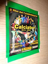 BUSTINA PANINI CALCIATORI 2014-2015 IL FILM DEL CAMPIONATO LO SPRINT SCUDETTO
