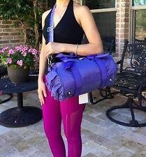 EUC Lululemon DTB Mini Duffel Bag Purple PEPL