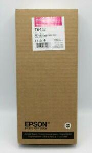 T642300-Genuine Epson Vivid Magenta Ink Cartridge, Dated 02/2020, T6423