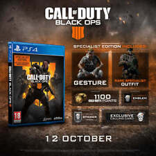Call of Duty: Black Ops 4 Specialist Edition | PlayStation 4 PS4 New