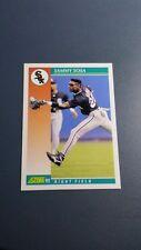 SAMMY SOSA 1992 SCORE BASEBALL CARD # 258 B3479