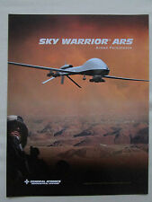 2007 GENERAL ATOMICS AERONAUTICAL SKY WARRIOR ARS ARMED RECONNAISSANCE SYSTEM