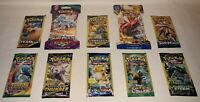 10 New Pokemon Packs Unweighed / 10 Card Packs & 3 Card Packs ===> XY Evolutions