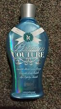 DC Platinum Couture Low Level DHA Black Silicone Bronzer Tanning Lotion +FREEBIE