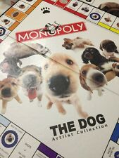 Monopoly Dog Board Game Edition Artist Opoly 2003 Collection Rare Pewter Pieces