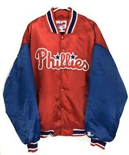 Vintage Philadelphia Phillies Mens 3XL Starter Jacket Diamond Collection Satin