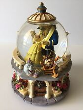 Disney Beauty And The Beast Snowglobe Snow Globe Rare Htf