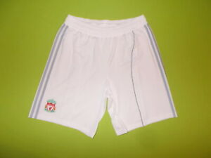 "GOALKEEPER Shorts LIVERPOOL (L) (38"") ADIDAS 2010/201 PERFECT !!! Trikot WHITE"