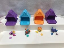 Animal Jam Adopt A Pet Lot Animal House Accessories Elephant Turtle Cat Fox Dog