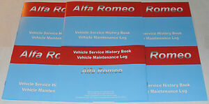 Replacement Generic Service History Book Suitable For Alfa 164 155 156 166 159