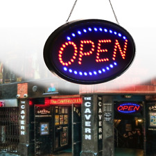 Led Open Light Business Neon Sign Shop Flash Animated Motion w/ On/Off 19''x10'&# 039;